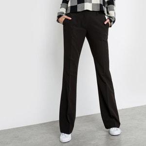 Bootcut-Hose aus Stretch, Schrittlänge 83 cm R essentiel