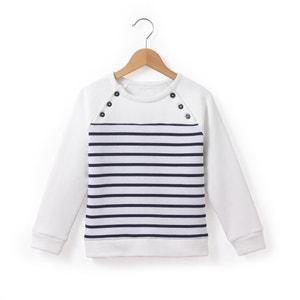 Sweater met geplaatste strepen R essentiel