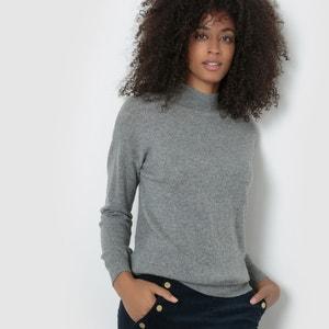 Jersey de cuello alto de lana cachemir La Redoute Collections