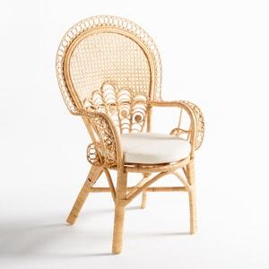Cadeira com braços em rotim, Malu La Redoute Interieurs