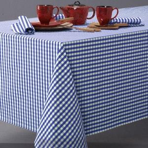 Toalha de mesa vichy em puro algodão tecido tingido, GARDEN PARTY La Redoute Interieurs