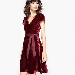 Halflange effen jurk MADEMOISELLE R