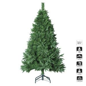 Sapin de Noël artificiel - H. 180 cm - Vert FEERIE CHRISTMAS