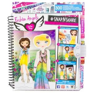 Cahier de mode et fotographie pour enfants IMAGINARIUM