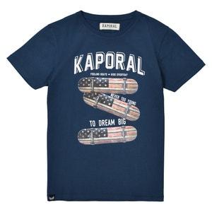 T-shirt met ronde hals en skate print 10-16 jr KAPORAL 5