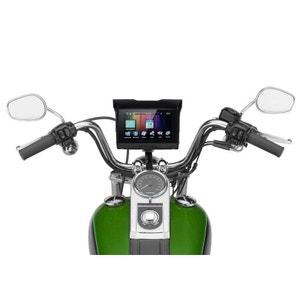 Gps Moto Carte Monde 5 Pouces Écran Tactile Support Guidon Waterproof Yonis