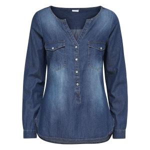 Chemise en jean Avec finitions ONLY