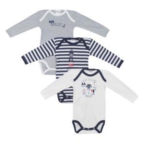 Lot de bodies bébé en coton ABSORBA