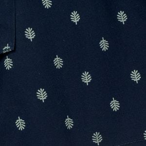 DrapedPalm-Print Shorts: 3-12 Years abcd'R