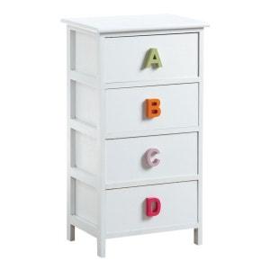 Commode alphabet 4 tiroirs AUBRY GASPARD