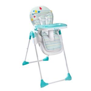 Cadeira alta Easy B010203 azul/cinzento BADABULLE