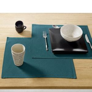 Sets de table enduit anti-taches (lot de 4) SCENARIO
