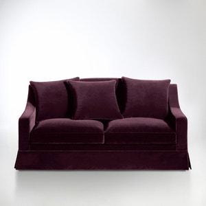 2- of 3-zit canapé, vast model, superieur comfort, fluweel, Evender La Redoute Interieurs