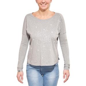 PaderaM. - T-shirt manches longues Femme - gris MALOJA