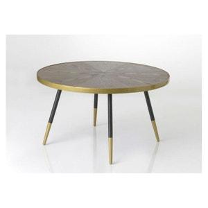 TABLE BASSE RONDE LARGE HOFFMANN HELLIN, DEPUIS 1862