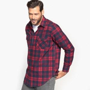 Chemise à carreaux, manches longues CASTALUNA FOR MEN