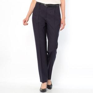 Pantalon bi-extensible, 96% laine, entrej. 75 cm ANNE WEYBURN