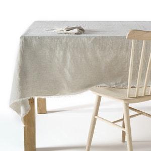 Tischdecke aus gewaschenem Leinen,