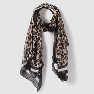 Foulard imprimé léopard La Redoute Collections