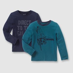 T-shirt met lange mouwen (set van 2) R édition