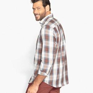 Koszula w kratę z długim rękawem CASTALUNA FOR MEN
