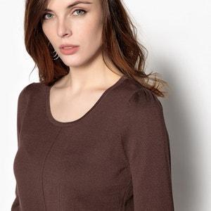 Pullover mit rundem Ausschnitt, 55% Baumwolle ANNE WEYBURN