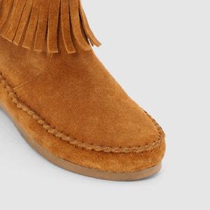 Crabe Fringed Leather Ankle Boots LES TROPEZIENNES PAR M.BELARBI
