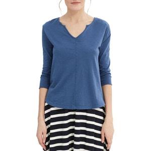 Plain V-Neck T-Shirt ESPRIT