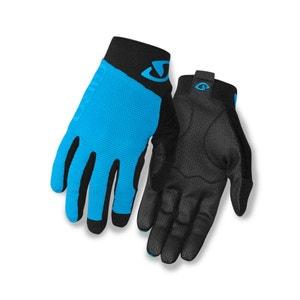 Rivet II - Gants - noir/turquoise GIRO