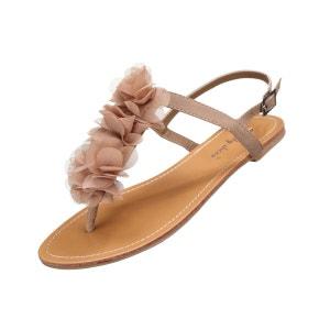 Sandale Lily shoes L327 Creme LEADER MODE