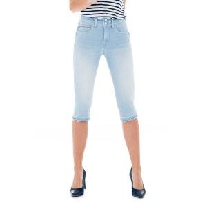 Jeans taille haute effet Push In avec fermetures éclair - Secret SALSA
