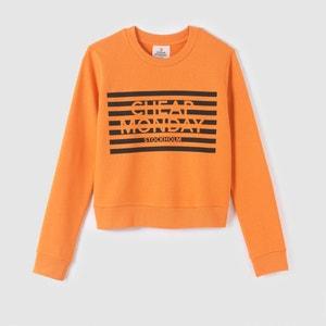 Printed Cropped Sweatshirt CHEAP MONDAY