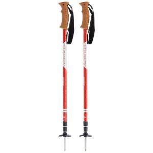Shockmaster Antischock - Bâtons de randonnée - rouge/blanc KOMPERDELL