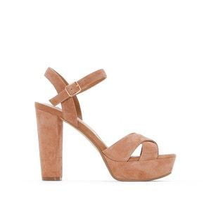 Mexico High-Heeled Platform Sandals DUNE LONDON