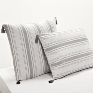 Tessarah Striped Housewife Pillowcase La Redoute Interieurs