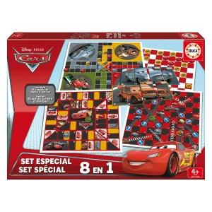 Set spécial 8 jeux en 1 Cars EDUCA