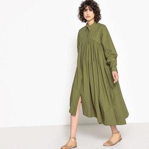 Oversized Shirt Dress FLORE GIRARD DE LANGLADE x LA REDOUTE