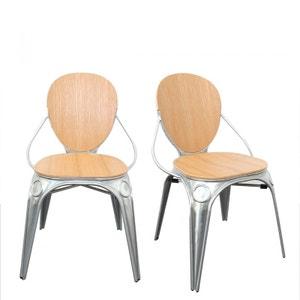 Lot de 2 chaises bistro Louis X DRAWER