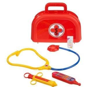 Mallette de docteur : Petit modèle valisette rouge KLEIN