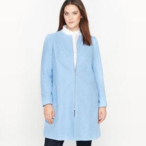 Manteau d'été en tissu reliéfé CASTALUNA
