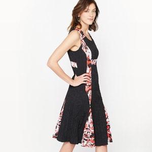 Vestido de dos tejidos ANNE WEYBURN