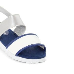 Sandálias com rasto branco R édition