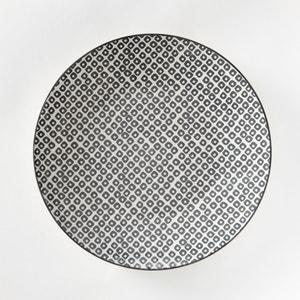 Assiette plate porcelaine, Akiva (lot de 4) La Redoute Interieurs