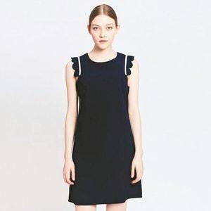 Ärmelloses Kleid, gerade Form MIGLE+ME