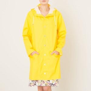 Veste LONG JACKET yellow RAINS