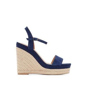 Sandálias de cunha, pele, Soline JONAK