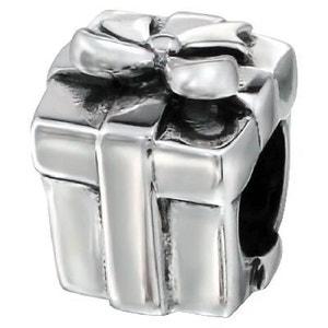 Charm Paquet Cadeau Noeud Ruban - Charms Compatibles Pandora, Trollbeads, Chamilia, Biagi - Argent 925 SO CHIC BIJOUX