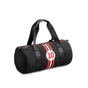 Sac de sport noir et rouge Steevy R10 ENTRE 2 RETROS