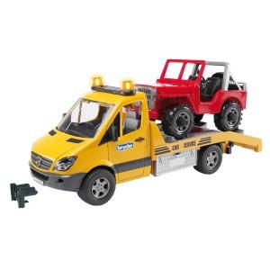 Camion de dépannage avec voiture BRUDER