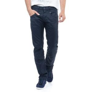 Jeans Er-Go, coupe droite, délavage bleu foncé SALSA